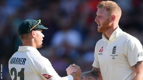Ben Stokes using David Warner to sell book - Australia captain Tim Paine