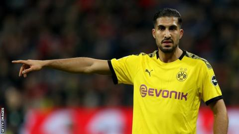 Dortmund activate purchase option to sign Emre Can on a permanent deal