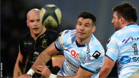 Mike Phillips in action for Racing 92