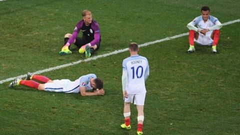 England defeated
