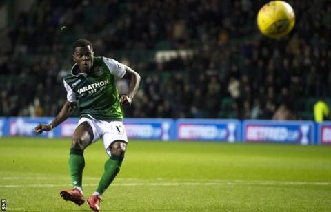 Ghana's Thomas Agyepong eyes strong end to the season with Hibernian