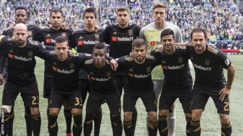 The first ever LAFC MLS starting XI