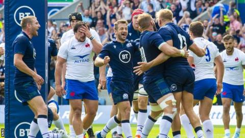 Scotland recovered from a poor first-half performance to edge out France at Murrayfield
