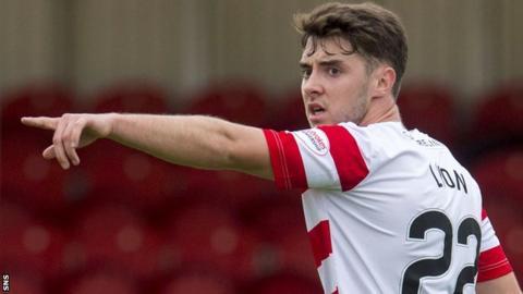 Hamilton Academical midfielder Darren Lyon