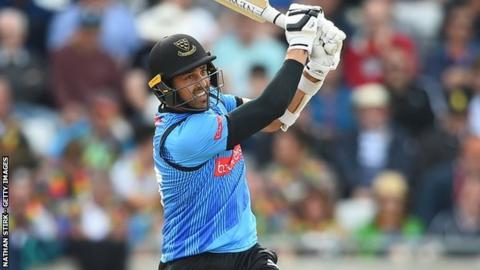 Sussex all-rounder David Wiese hit 52 in the T20 Blast semi-final win over Somerset at Edgbaston