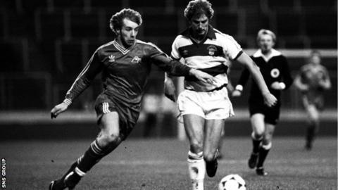 Aberdeen beat Morton 2-1 in the 1979 League Cup semi-final