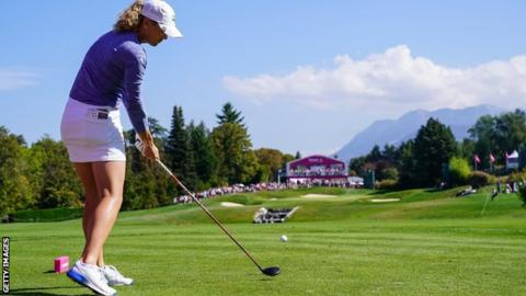 Hall fades as Stanford claims Evian Championship title