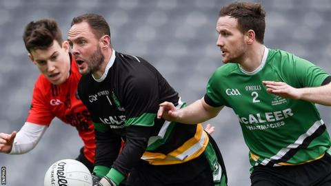 Rock's hopes of All-Ireland glory were dashed as they lost 1-14 to 1-11 to Glenbeigh/Glencar