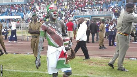 Kenya lost their 2017 Afcon qualifier in Nairobi 1-0 to Guinea Bissau