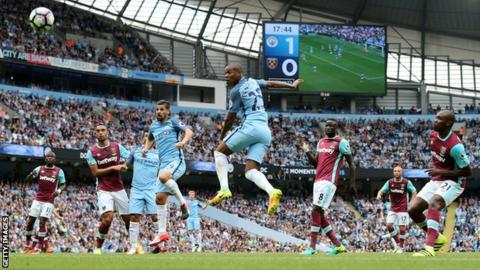 Image result for Manchester City vs West Ham United live pic logo