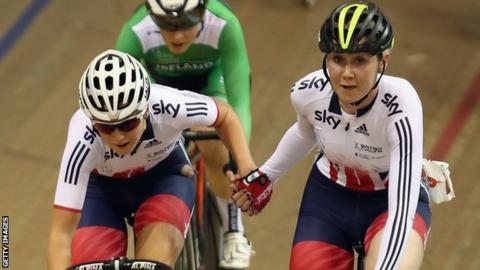 Katie Archibald and Manon Lloyd won madison gold in Glasgow