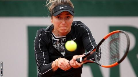 French Open: Elina Svitolina beats Venus Williams to reach second round