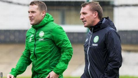 Kris Commons and Brendan Rodgers
