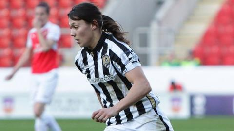 Notts County's Rachel Williams