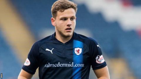 Raith Rovers striker Jamie Gullan