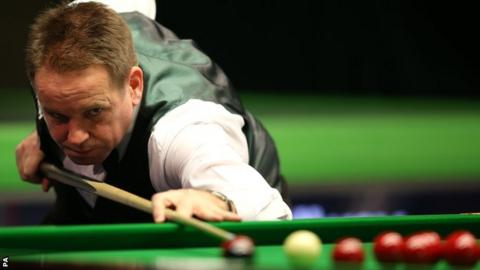 Joe Swail could play fellow Northern Irishman Mark Allen in the last 16