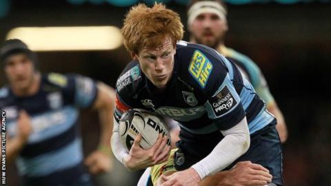 Rhys Parchell, Cardiff Blues