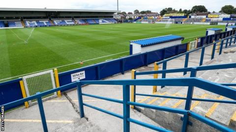 Macclesfield Town finished in 22nd place in League Two and stayed up of on the final day of the season