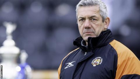 Castleford Tigers head coach Daryl Powell