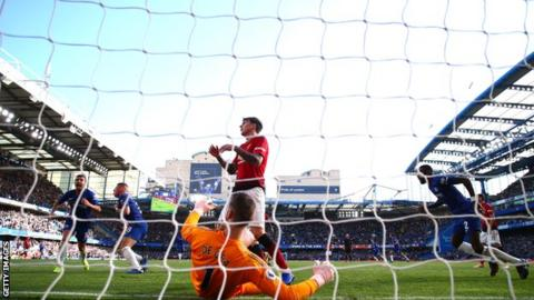 Ross Barkley scores for Chelsea