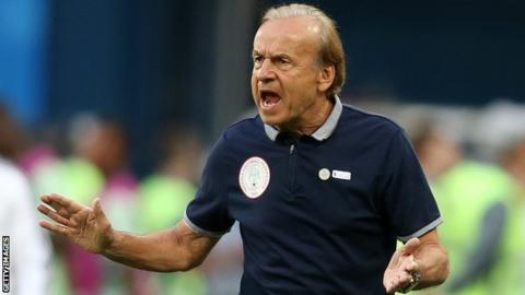 Gernot Rohr, Nigeria coach