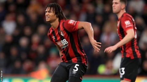 Bournemouth centre-back Nathan Ake