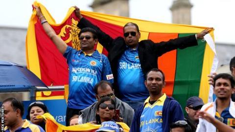 Sri Lanka fans