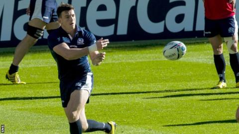 Scotland centre Matt Scott