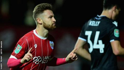 Matty Taylor has scored nine goals in his two years at Bristol City, having mostly been used off the bench