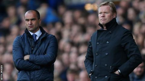 Martinez and Koeman