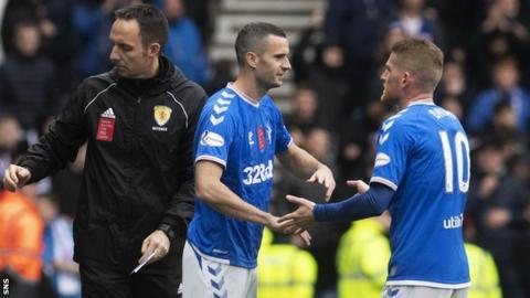Jamie Murphy substitutes Steven Davis