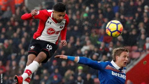 Sofiane Boufal training with Southampton Under-23s following Mark Hughes row