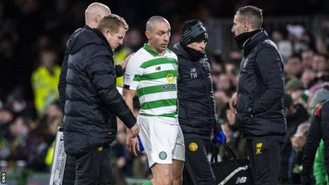 Brown was taken off as a precaution against St Mirren after tweaking his thigh