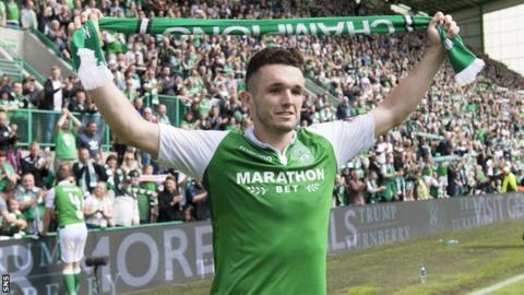 Hibernian 'reject Celtic bid for John McGinn'