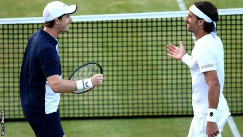 Andy Murray's Queen's comeback ends with doubles title with Feliciano Lopez