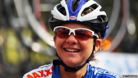 Sharon Laws turned a professional cyclist at the age of 33