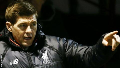Steven Gerrard has been in talks with Rangers