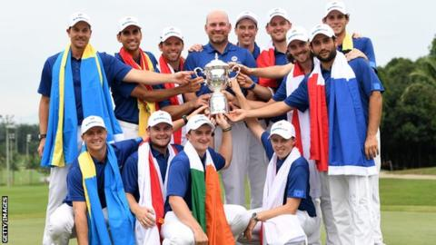 Sunday singles rally allows Europe to pull out victory at EurAsia Cup