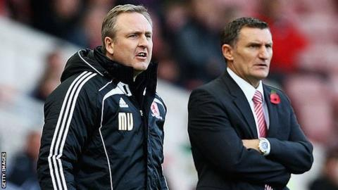 Mark Venus was Tony Mowbray's right-hand man in all his previous spells in management, at Hibernian, West Bromwich Albion, Celtic and Middlesbrough before coming to Coventry