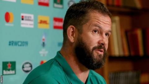 Ireland: Andy Farrell says players are not worried about Rugby World Cup permutations
