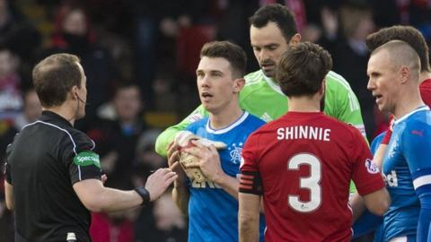 Aberdeen shut the door on Rangers