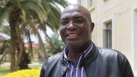 Zambia coach Wedson Nyirenda