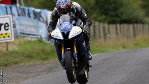 Paul Jordan lifts his first major of the season at the Armoy Road Races