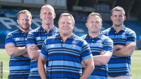 Cardiff Blues coaches for 2018-19