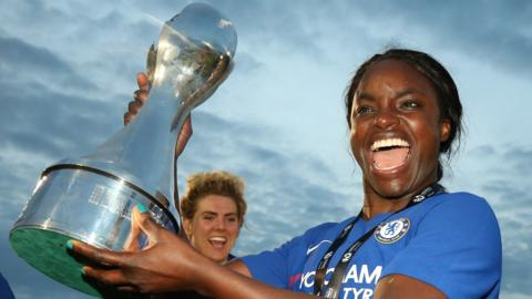 Chelsea striker Eniola Aluko