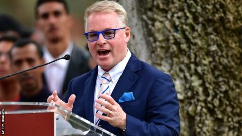 Chief Executive of The European Tour, Keith Pelley