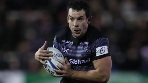 83cc39165 John Hardie  Newcastle Falcons flanker signs new deal - BBC Sport
