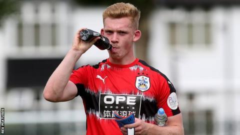 Huddersfield Town's Lewis O'Brien