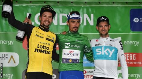 Tour of Britain winners