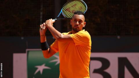 French Open: Nick Kyrgios pulls out of main draw with illness